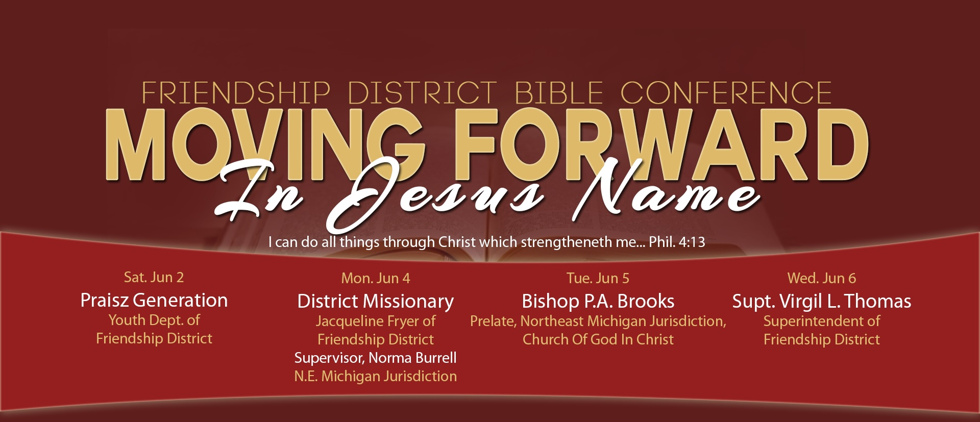 District Bible Conference