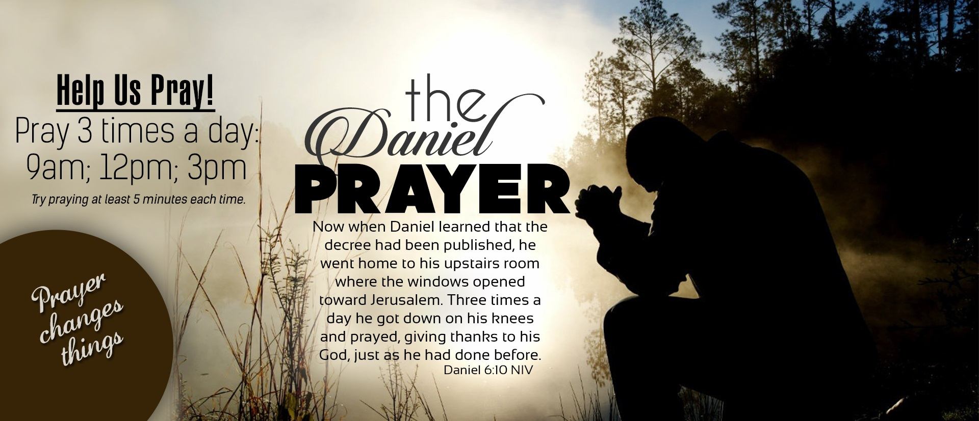 Join us in Daniel Prayer